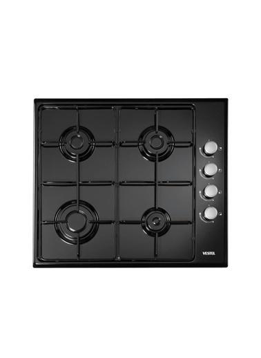 Vestel SO-6004 S Siyah Set Üstü Ocak Siyah